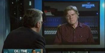 Robert Redford Asks President Obama To Take The Lead On Clean Energy