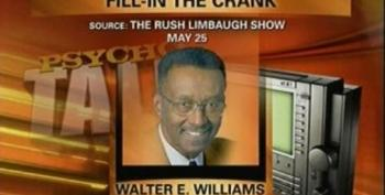 """Rush Fill-in Williams Tells Caller: """"I Believe In Keeping Wives Under Control"""""""