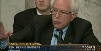 Sen. Sanders To Associate AG Perrelli: 'You May Be The Last Person In America Who Trusts Or Believes What BP Says,'