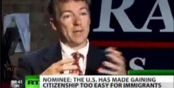 Rand Paul: It's Too Easy To Become A Citizen Of The USA -- Time To Stop Birthright Citizenship