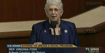 Virginia Foxx: The Congress Has No Money Other Than What It 'Confiscates' From American Taxpayers