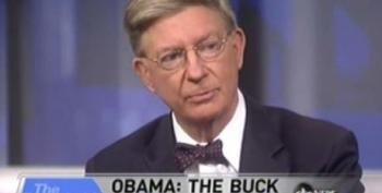 George Will On Obama And The Oil Spill: 'He's Being Unfairly Blamed, And It Sort Of Serves Him Right.'