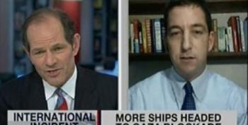 Flotilla Debate: Glenn Greenwald Vs Eliot Spitzer