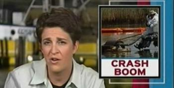 Rachel Maddow: How Not To Respond To An Oil Spill -- Booming Fails On Louisiana Coast