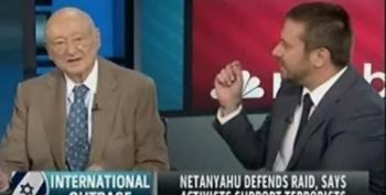 Ed Koch And Jeremy Scahill Debate Israeli Flotilla Attacks