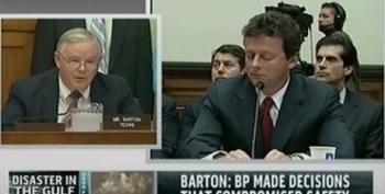 GOP Congressman Apologizes To BP For $20 Billion 'Shakedown'