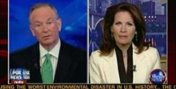 O'Reilly Gives Bachmann A Hard Time For Accusing Obama Of Extortion