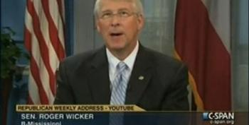 Roger Wicker Accuses Democrats Of 'Playing Politics' With Gulf Oil Disaster While Playing Politics With Gulf Oil Disaster