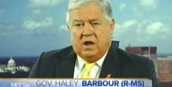 Haley Barbour: Administration Was Smart To Get $20 Billion From BP Since It's Not All At Once