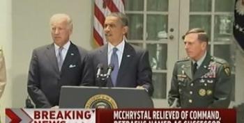 Obama Accepts McChrystal's Resignation