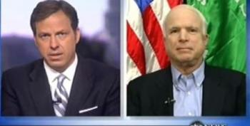 You'll Never Guess: John McCain Doesn't Want A Deadline In Afghanistan!