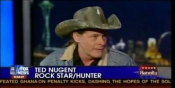 Ted Nugent Tells Hannity: Obama 'Spitting On The US Constitution'