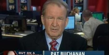 Resident MSNBC Racist Pat Buchanan Defends Rush Limbaugh's Racist Attacks On Obama