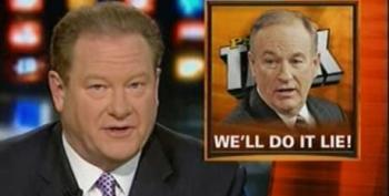 Ed Schultz Hits Back At O'Reilly For Saying MSNBC Lies Every Day With Highlight Reel Of Fox Lies