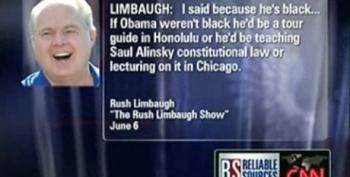 "Watch Howard Kurtz ""Make A Case"" For Rush Limbaugh's Racism"