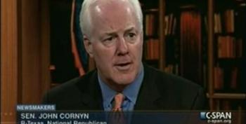 Jonn Cornyn: We'll Be Happy To Cooperate With Democrats To Destroy Our Social Safety Nets