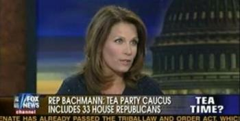 Michele Bachmann Rolls Out House Tea Party Caucus