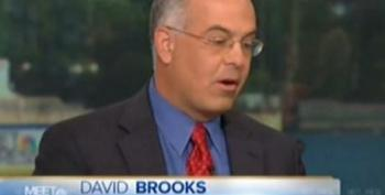 David Brooks Takes His Turn Giving Fox And Breitbart Cover With The False Equivalency Game
