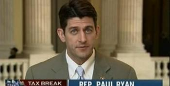 Hooverite Paul Ryan Touts The Lie That Ending The Bush Tax Cuts Will Raise Taxes On Small Businesses
