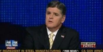 Hannity Cites Fox 'Democrats' Op-Ed Which Accuses Obama Of Doing What Fox Does--Stoking Racial Tensions