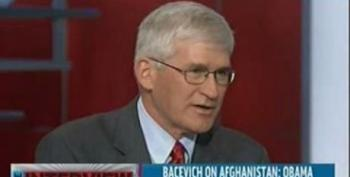 Rachel Maddow And Ret. Col. Andrew Bacevich: The U.S. Too Accustomed To Being At War?