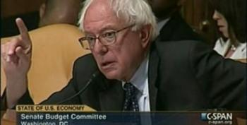 Sen. Bernie Sanders: No To Oligarchy -- Time For Some Fairness In Our Tax Structure