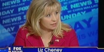 Liz Cheney Says Obama Lacks Credibility To Criticize Bush On The Economy And Then Lies About Stimulus Spending