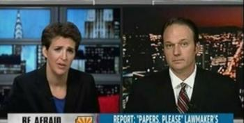 Rachel Maddow: Exposing Private Prison Industry Role In Shaping Arizona's Anti-Immigration Law