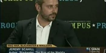 Jeremy Scahill: Iraq, Blackwater, WikiLeaks And The Future Of Journalism Part 2