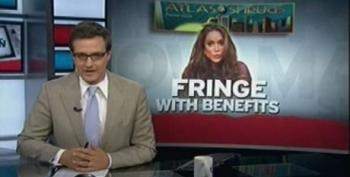 Chris Hayes Calls Out The 'Wingnut Alchemy' While CNN Helps To Promote It