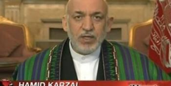 Karzai: U.S. Taxpayer-Funded Private Contractors Engaging In Terrorist, Mafia-Like Activity