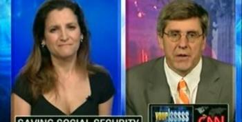 Stephen Moore Embraces Social Security Lock Box