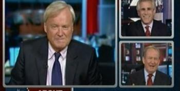Chris Matthews And Pat Buchanan Gush Over Palin And Her Prospects For 2012