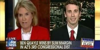 Ben Quayle Still Trying To Downplay Contributions To Racy Web Site