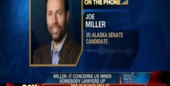 "Joe Miller: Murkowski, NRSC Trying To ""Pull An Al Franken"""