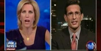 Laura Ingraham Browbeats Rep. Eric Cantor About Repealing 'Obamacare'