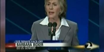 Boxer Calls Fiorina On Her Criticism Of The Teacher's Bill