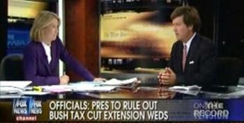 Tucker Carlson Distorts What Peter Orszag Wrote About Extending The Bush Tax Cuts