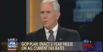 Mike Pence Still Touting Republican Budget Proposal With No Numbers