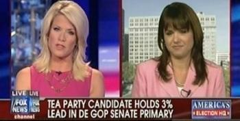 Tea Party's Christine O'Donnell Says 'Hillary Democrats' Back Her