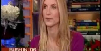 Matt Lauer Uses Ann Coulter As A Serious Pundit To Describe Bush' 2005 Year