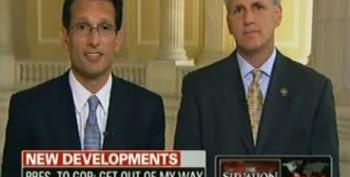 Blitzer Allows 'Young Guns' Cantor And McCarthy Some Fact Free Air Time On CNN