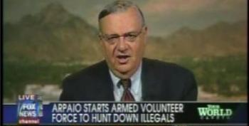 Sheriff Joe Arpaio Explains How He's Going To Form An Armed Immigrant-hunting Posse
