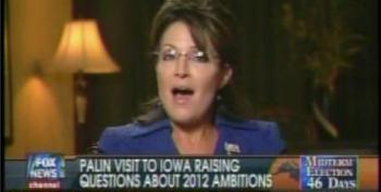 Sarah Palin Says She'd Be Open To Run For White House As She Heads For Iowa