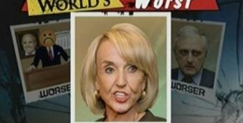 Worst Person Jan Brewer Stands By Her Statement That Illegal Immigrants Are Drug Mules