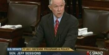 Jeff Sessions Knowingly Misquotes Three-Star General To Bash DADT Repeal
