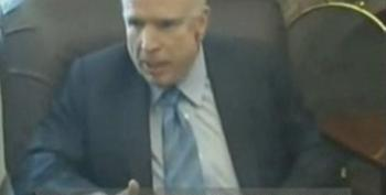 McCain Gets Into Angry Exchange With Reporters Over DADT