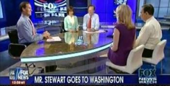 Fox Panel Is Terribly Concerned That 'Media Figures Are Playing Politicians'