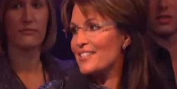 "Sarah Palin Booed At ""Dancing With The Stars"""