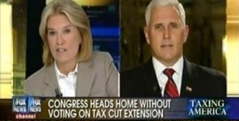 Mike Pence: It's 'Unconscionable' The Democrats Didn't Vote On Bush Tax Cuts Extension